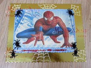 Торт Мадам Эклер Человек паук - фото 1