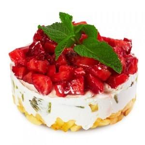 Торт Французский кондитер Торт с ягодами и фруктами №5001 - фото 1