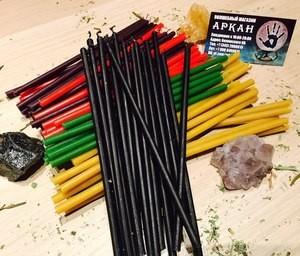 Аркан Свечи разноцветные в Ассортименте - фото 1