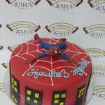 Торт Zara-торт Детский торт Человек-паук - фото 1