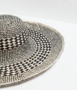 ZARA Шляпа широкополая двухцветная 0049/005 - фото 2