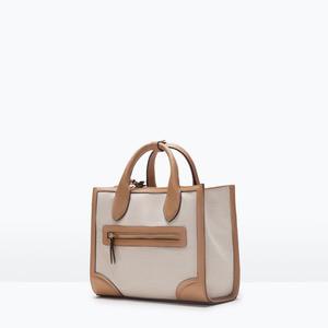 Сумка ZARA Тканевая сумка 4300/004 - фото 2