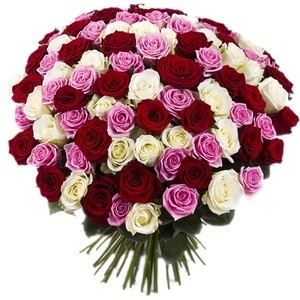 "Букетик 66 Букет из 101 розы ""Эквадор"" - фото 1"