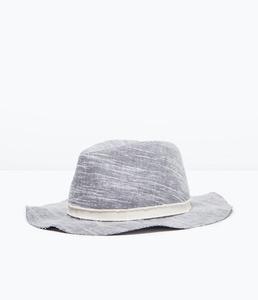 ZARA Шляпа из ткани - фото 4
