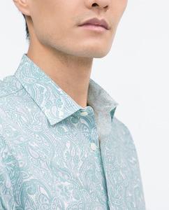 ZARA Рубашка с принтом - фото 4