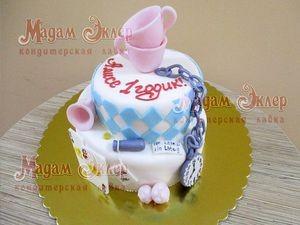 Торт Мадам Эклер Алиса в стране чудес - фото 1