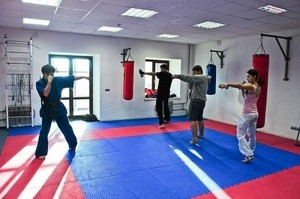 Спортмат Татами тренировочный двухсторонний «ласточкин хвост» 1000х1000х20 мм (Т2-НХ20) - фото 4