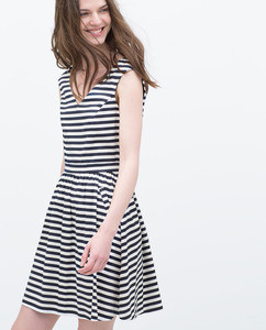 ZARA Платье с карманами - фото 4