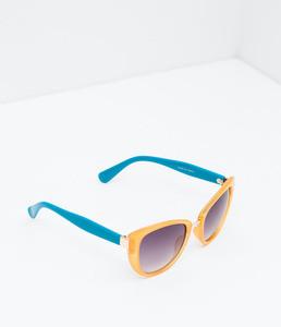 ZARA Очки солнцезащитные двухцветные 5875/006 - фото 2