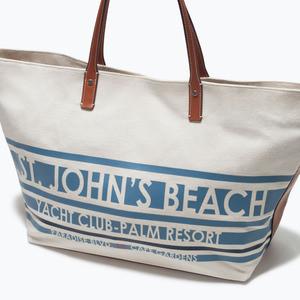 Сумка ZARA Тканевая сумка-шоппер 4442/004 - фото 5