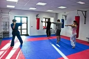 Спортмат Татами тренировочный двухсторонний «ласточкин хвост» 1000х1000х30 мм (Т2-НХ30) - фото 4