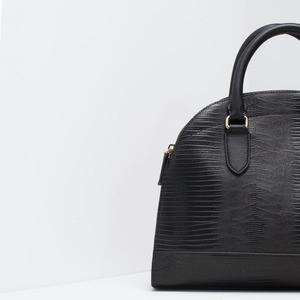 Сумка ZARA Двойная сумка-портфель - фото 5