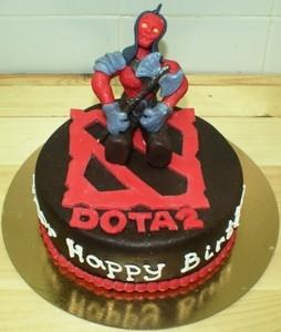 Торт Тортоешка DOTA2 - фото 1