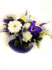 Букетик 66 Цветы в коробочке №5 - фото 1