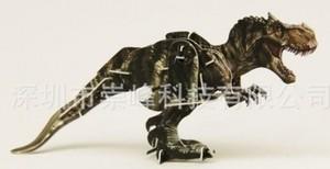 """Игрушка66 Объёмный подвижный 3D пазл """"Тиранозавр"""" - фото 4"""