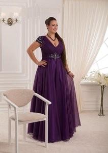Viva Сиреневое вечернее платье 50-52 р. - фото 1