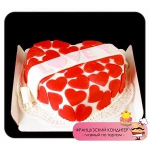 "Торт Французский кондитер Торт ""Love"" №2263 - фото 1"
