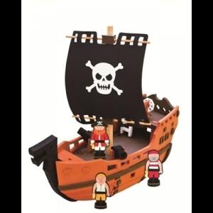 """Игрушка66 Конструктор """"Пиратский корабль"""" - фото 1"""