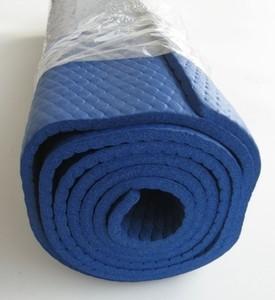 Спортмат Коврик для йоги 1800х630х6 мм синий - фото 2