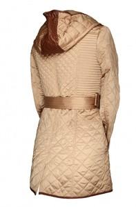 Via Roma Женское пальто Misha Fashion (бежевое) - фото 3