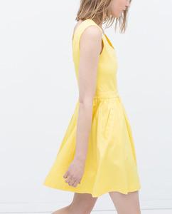 ZARA Платье с карманами - фото 13