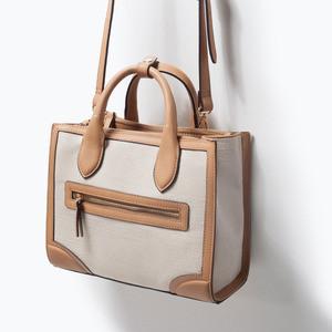 Сумка ZARA Тканевая сумка 4300/004 - фото 3