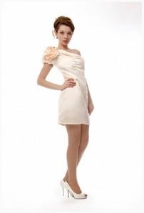 Sovanna Вечернее платье на одно плечо - фото 1