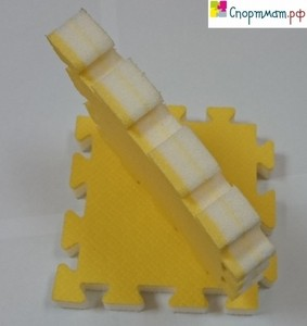 Спортмат Татами тренировочный односторонний «ласточкин хвост» 1000х1000х15 мм (Т1-НХ15) - фото 7