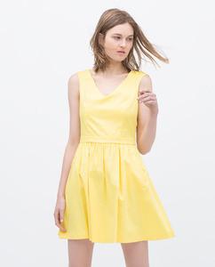 ZARA Платье с карманами - фото 9