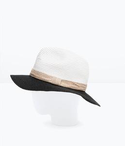 ZARA Двухцветная шляпа 0049/006 - фото 3