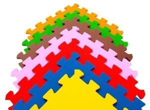 Игрушка66 Экополимеры Детский коврик-пазл «Бабочки» - фото 6