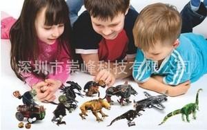 """Игрушка66 Объёмный подвижный 3D пазл """"Тиранозавр"""" - фото 2"""