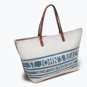 Сумка ZARA Тканевая сумка-шоппер 4442/004 - фото 3