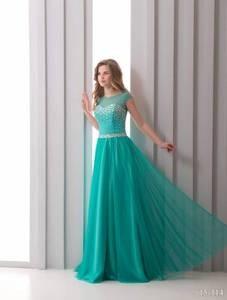 Viva Шифоновое вечернее платье - фото 1