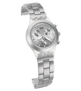 Swatch Часы FULL-BLOODED SILVER - фото 2