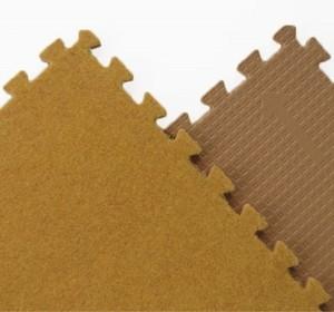 Игрушка66 Модульный мягкий пол с ковролином - фото 6