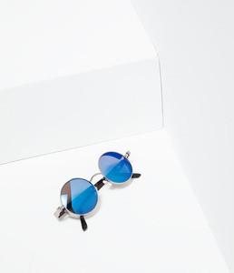 ZARA Зеркальные солнцезащитные очки - фото 3