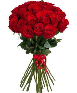 "Букетик 66 Букет из 25 роз ""Эквадор"" - фото 1"