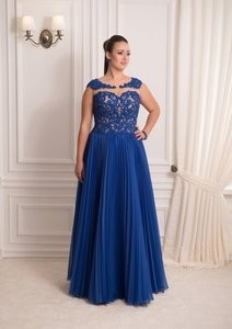 Viva Синее вечернее платье - фото 1