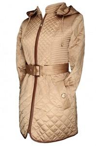 Via Roma Женское пальто Misha Fashion (бежевое) - фото 2
