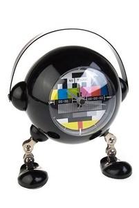 Красный Куб Часы настольные «Робот-телевизор» - фото 1