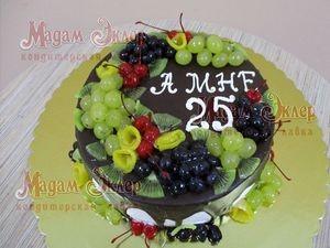 Торт Мадам Эклер Фруктовый - фото 1