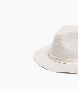 ZARA Шляпа из ткани - фото 2