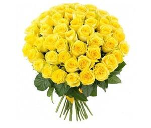 """Букетик 66 Букет из 51 розы """"Эвадор"""" - фото 2"""