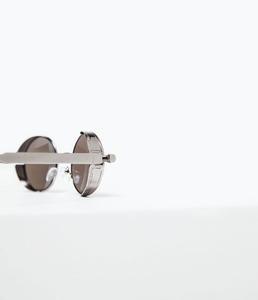 ZARA Зеркальные солнцезащитные очки - фото 2