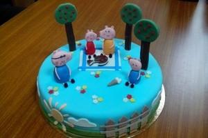 Торт Торт-Мне Семья свинок - фото 1