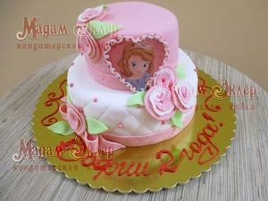 Торт Мадам Эклер Принцесса - фото 1